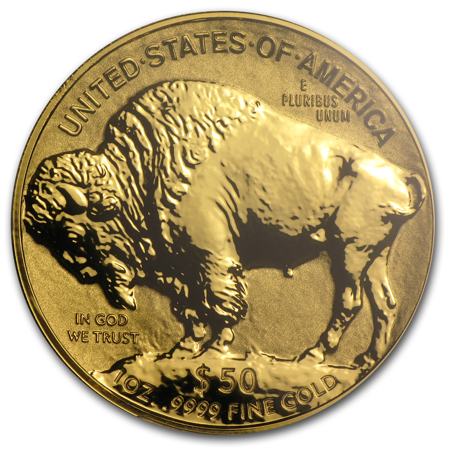 2013 1 oz Rev Proof Gold Buffalo PR-70 PCGS (FS) Gold Foil